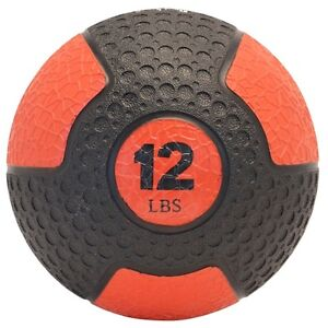 Northern Lights Deluxe Rubber Med Ball, 12 lb MBNLDRLB12