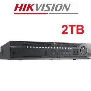 NEW HIKVISION DIGITAL VID. RECORDER DVR - 2TB - 32 CHANNEL HYBRID DIGITAL VIDEO RECORDER SYSTEM SECURITY