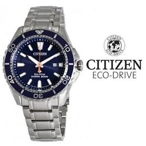 USED MEN'S CITIZEN ECO-DRIVE WATCH BN0191-55L 205650305 JEWELLERY JEWELRY STAINLESS STEEL PROMASTER DIVER