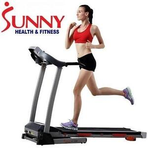 NEW SUNNY 2.20 HP TREADMILL SF-T440 FITNESS EXERCISE EQUIPMENT WORKOUT TRAINING 106127803