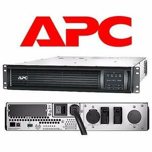 NEW APC SMART RACK MOUNT UPS 3000VA 2 OUTLET - BATTERY BACKUP - 2.7 kW  90642921