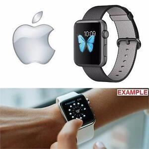 NEW OB APPLE SPORTS WATCH 42MM   42MM SPACE GRAY ALUMINUM CASE W/ BLACK WOVEN NYLON BAND - 1ST GEN ELECTRONICS  97592507
