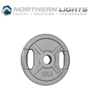 Northern Lights Olympic Standard Weight Plate, 25lbs WPOS25