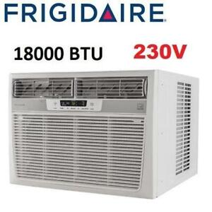 NEW* FRIGIDAIRE AIR CONDITIONER FFRE1833S2 248865488 WINDOW MOUNTED 18000 BTU 230V COOLING
