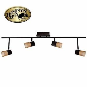 NEW HAMPTON BAY 4-LIGHT FIXTURE   VEGA LED DIRECTIONAL LIGHT BAR - HOME - LIGHTING  84605259