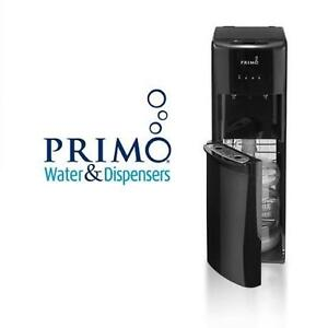 NEW* PRIMO WATER DISPENSER PRIMO DELUXE BOTTOM LOAD BOTTLED WATER DISPENSER - BLACK - NEW OPEN BOX PRODUCT 107012112