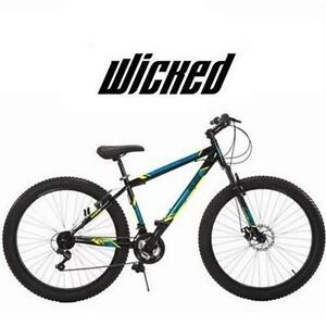 NEW* WICKED FALLOUT FAT TIRE BIKE MEN'S  BIKE PLUS MID FAT TIRE 27.5 INCH BICYCLE RIDING CYCLING 80267515