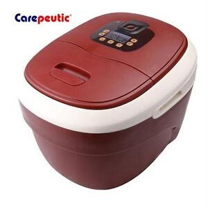 NEW CAREPEUTIC FOOT BATH MASSAGER Ozone Waterfall Foot and Leg Spa WELLBEING RELAXING MASSAGE  80166878