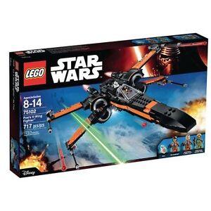 Star Wars Lego Poe's X-wing Starfighter 75102