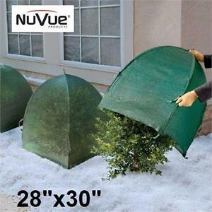 """NEW NUVUE PRODUCTS WINTER SHELTER   28"""" WINTER SHELTER FOR PLANTS HOME OUTDOOR LAWN GARDEN PATIO PLANT CARE  97583367"""