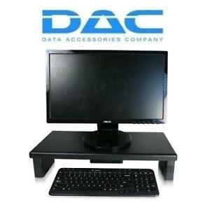 NEW DAC ADJUSTABLE MONITOR STAND MP-211 201614956 HEIGHT ADJUSTABLE ULTRA WIDE PC COMPUTERS