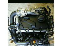 Vw golf mk5 passat b6 octavia leon a3 1.9 tdi bkc bxe engine done 77k 04-11