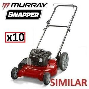 10 AS IS LAWN MOWERS UNINSPECTED - 119114554 - HIGH WHEEL MOWERS LAWNMOWER LAWNMOWERS CUTTING LANDSCAPING GRASS LAWNS...