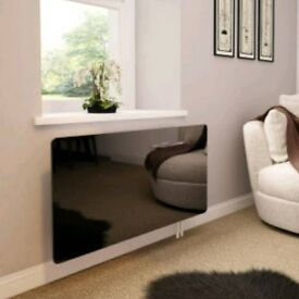 Glass radiator covers