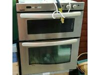 New world G70m integrated gas oven