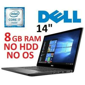 RFB DELL LATITUDE 14 LAPTOP PC 7480 251675089 I5-3600U 8GB RAM NO HDD NO OS LAPTOP COMPUTER REFURBISHED