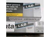 2full cartons of lamberts lights duty frees GENUINE