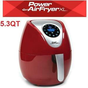 NEW POWER AIR FRYER XL 5.3QT/RED DEEP FRYER - KITCHEN - COOKING small appliances 74234164