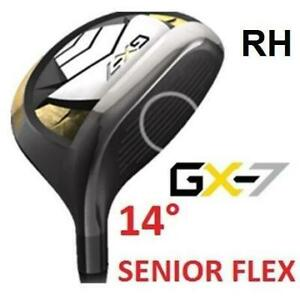 NEW* GX-7 GOLF CLUB DRIVER 14° RH GX-7 251433556 RIGHT HAND GRAPHITE SHAFT SENIOR PLUS FLEX OPEN BOX