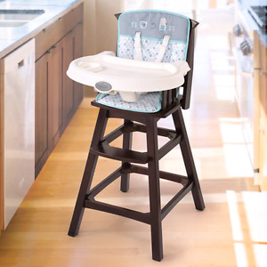 Brand new in box -Summer infant wooden high chair-turtle tale
