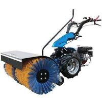 """BCS 722 Walk Behind Tractor with 40"""" Sweeper Attachment."""