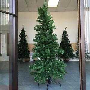 NEW, 6 FT Artificial Wrapped Christmas Tree & a Metal Base- PRE17J60534 *PickupOnly