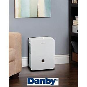 NEW DANBY 45 PINT DEHUMIDIFIER WHITE - PREMIERE HEATING COOLING AIR QUALITY TEMPERATURE