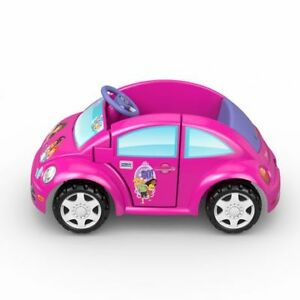 Kids ride on Pink Dora car ValksWagon new beetle Original