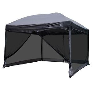 11x11 gazebo with mesh curtain for $60.00 off