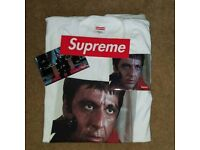 Supreme Scarface shower T-Shirt