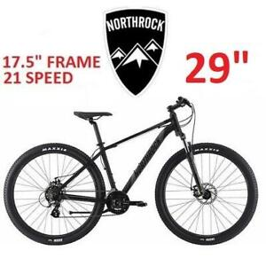 NEW NORTHROCK XC29 MOUNTAIN BIKE 251918907 BICYCLE 29 TIRES 17.5 FRAME MENS 21 SPEED