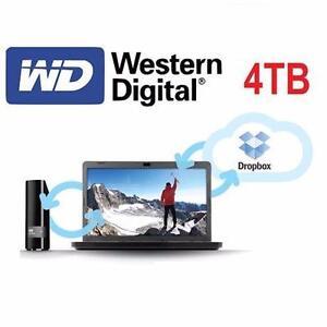REFURB WD 4TB EXTERNAL HARD DRIVE My Book Desktop External Hard Drive - USB 3.0 - DATA STORAGE - COMPUTERS  84190277