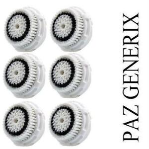 6 NEW REPLACEMENT BRUSH HEADS SENS CLARISONIC COMPATIBLE SENSITIVE CLEANSING BRUSH HEADS Beauty  Personal Care›Skin