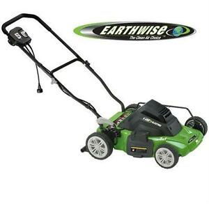 "USED* EARTHWISE 14"" ELECTRIC MOWER 8-AMP LAWNMOWER - LAWN MOWER - Side Discharge/Mulching 80138907"