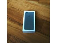 iPHONE 7 PLUS 128GB BRAND NEW UNLOCKED WITH APPLE RECEIPT-MAY SWAP.