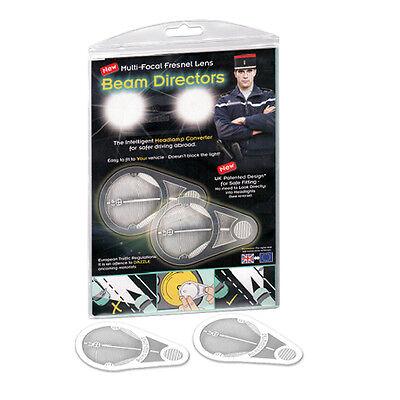 New Headlight Convertors Adaptors Deflectors Beam Benders Fresnal Lens