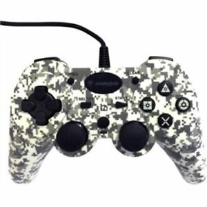PLAYSTATION 3 - PS3 - SNAKEBYTE WIRED CONTROLLER (WHITE CAMO)