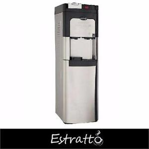 NEW ESTRATTO SINGLE CUP COFFEE MAKER  Self Clean Stainless Steel Water Cooler 84595319