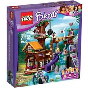 LEGO FRIENDS ADVENTURE CAMP TREE HOUSE BUILDING KIT 41122 - 726 PC
