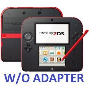REFURB NINTENDO 2DS SYSTEM RED - 107278118 - VIDEO GAMES - HANDHELD CONSOLE - CRIMSON RED