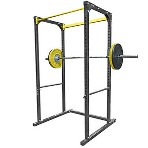 NORTHERN LIGHTS Iron Factory Power Rack, Single Bar IRPOWRACKSB