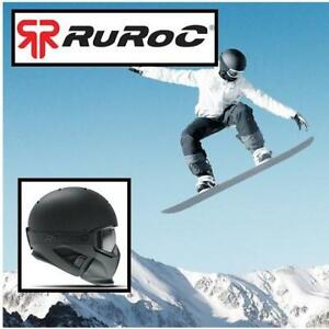 NEW RUROC HELMET YL/SM RG1-COR-W-S 213821022 KID'S YOUTH LARGE ADULT SM 54-56CM RG-1 CORE WINTER SPORT SKI SNOWBOARD