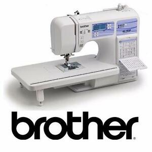 NEW* BROTHER HC1850 SEWING MACHINE COMPUTERIZED 130 BUILT IN STITCHES ARTS CRAFTS SEWING MACHINES PRESSER FEET 97848688