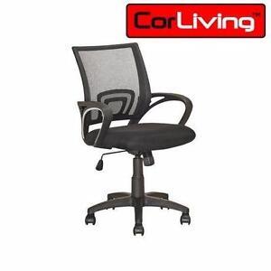 NEW* CORLIVING BLACK OFFICE CHAIR WORK DESK SWIVEL HOME - OFFICE - FURNITURE  86767597