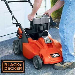 NEW* B+D CORDLESS 36V LAWNMOWER Black & Decker 19'' Lift In/Lift Out Mulching Mower LAWN MOWER  Outdoor