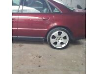 5x112 wheels with ok tyres for audi vw ect