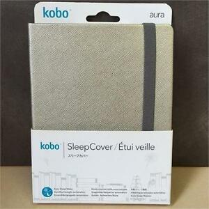 Kobo Classic N514-AC-SI-O-PU Silver Bookstyle Cover For Kobo Aura- Silver NEW