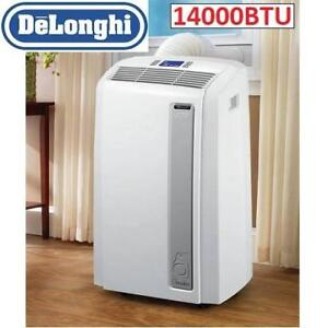 USED DELONGHI AIR CONDITIONER PACAN140HPEC 201281745 14000BTU FAN COOLING DEHUMIDIFIER