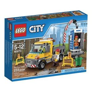(New) LEGO® City Demolition - Service Truck (60073)