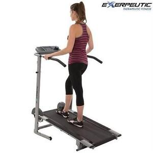 NEW EXERPEUTIC MANUAL TREADMILL FITNESS EXERCISE EQUIPMENT WORKOUT HIGH CAPACITY Aerobic Training Machines 76130087